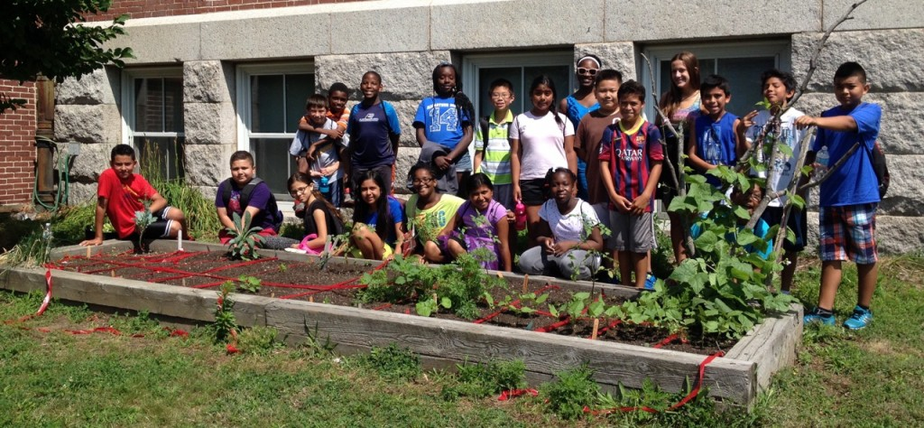 Healthy Waltham's summer program at McDevitt School 2014